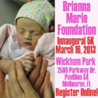 Brianna Marie Foundation Inaugural 5K Run/Walk