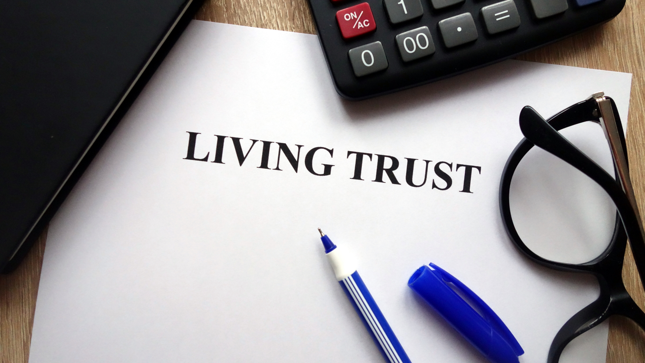 FAQ's and the Good News on Using a Living Trust