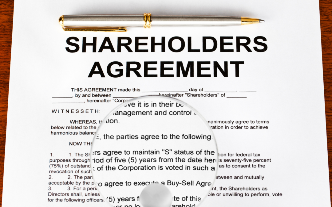 The Importance of Shareholder Agreements in the  Succession of a Family Business