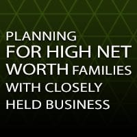 New Tax Regulations Attack Family Business Planning