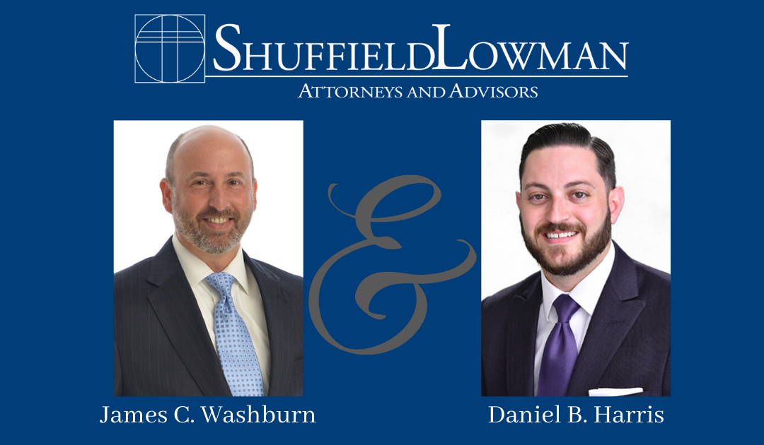 ShuffeldLowman Names Daniel B. Harris and James C. Washburn as Firm Partners